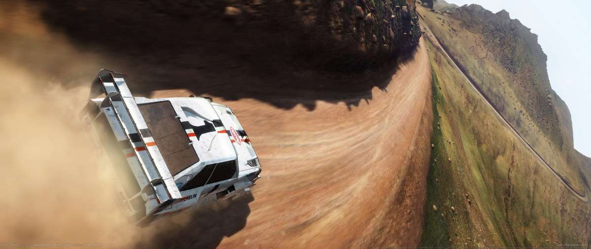 DiRT Rally achtergrond