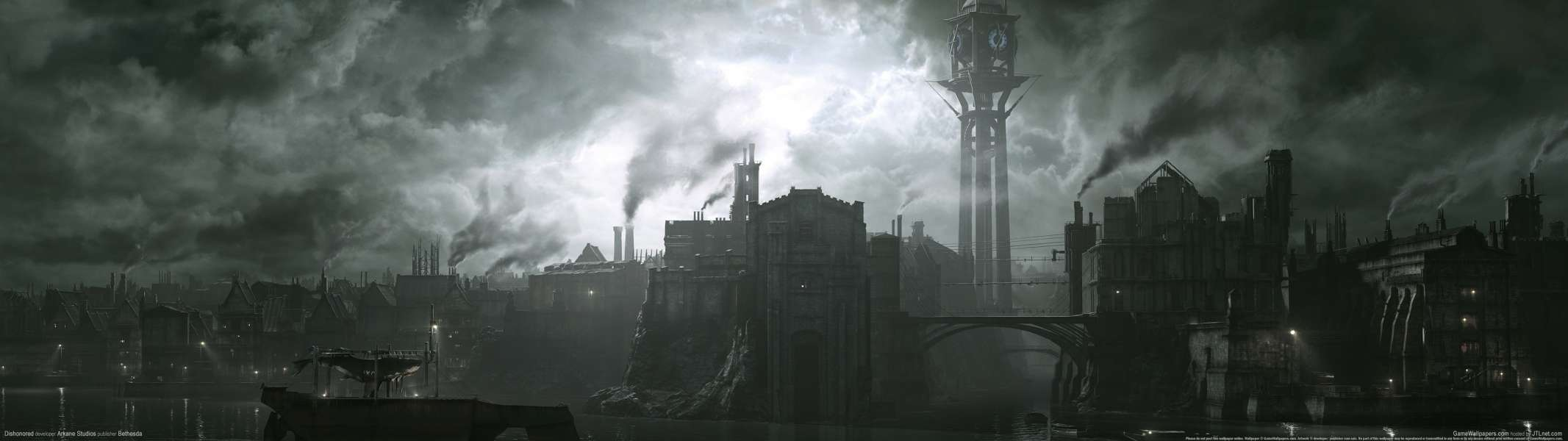 Dishonored dual screen achtergrond