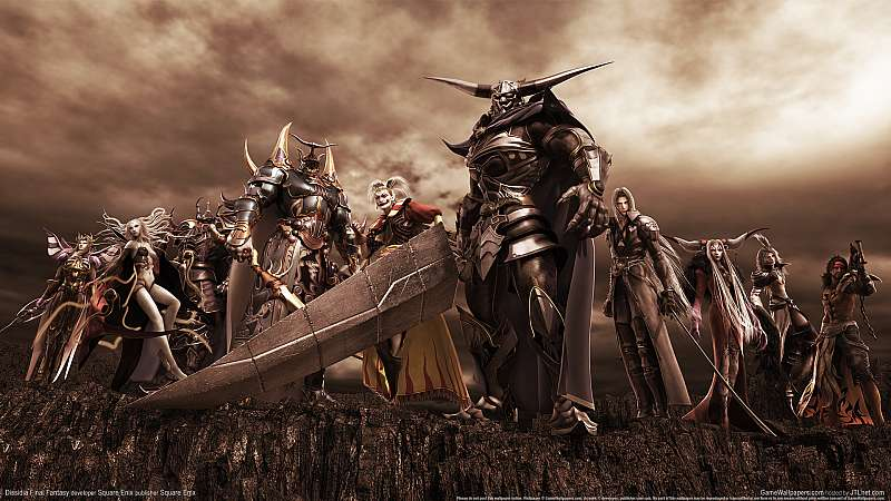 Dissidia Final Fantasy achtergrond