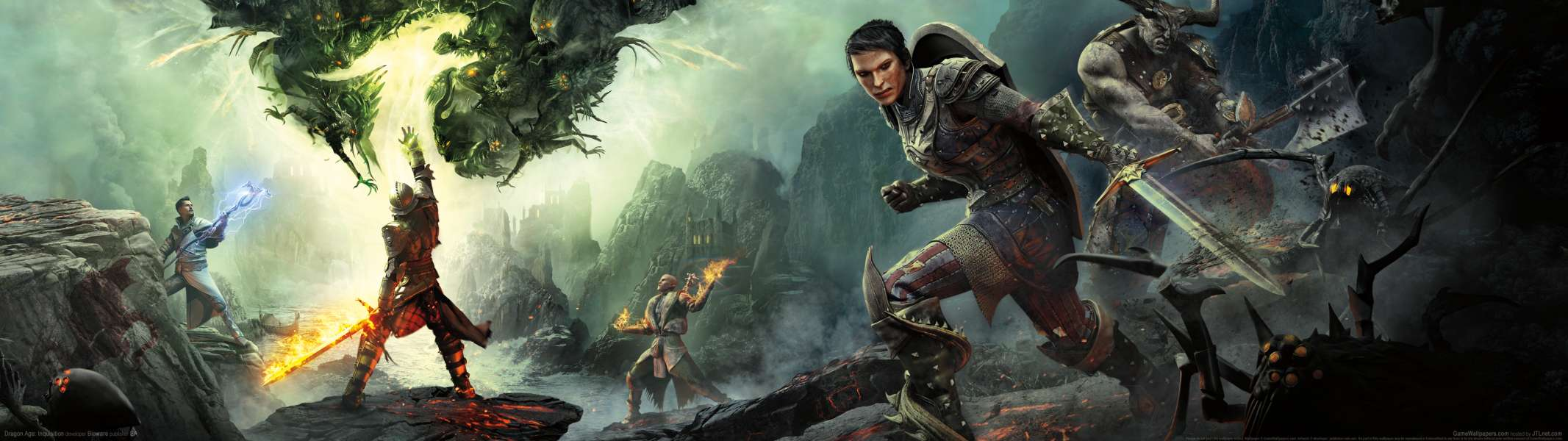 Dragon Age: Inquisition dual screen achtergrond