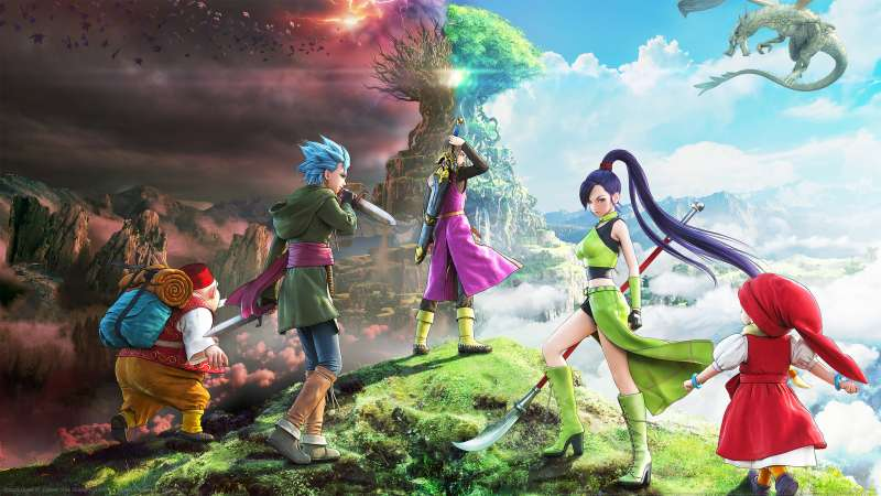 Dragon Quest XI: Echoes of an Elusive Age achtergrond