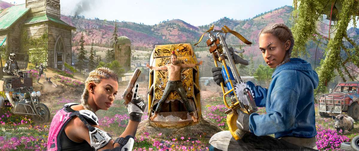 Far Cry New Dawn achtergrond