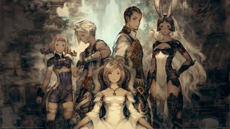 Final Fantasy XII The Zodiac Age achtergrond
