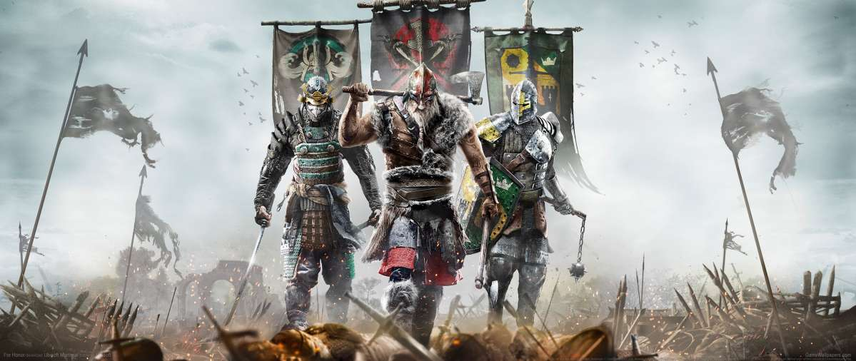 For Honor ultrawide achtergrond 01