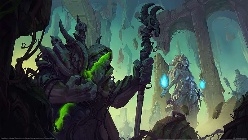 Hearthstone: Ashes of Outland achtergrond