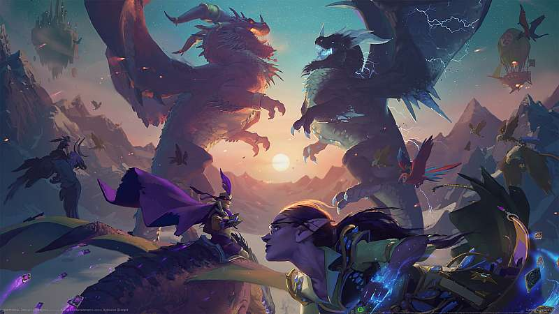 Hearthstone: Descent of Dragons achtergrond