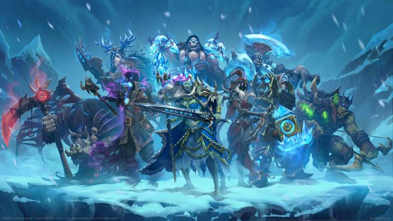 Hearthstone: Heroes of Warcraft - Knights of the Frozen Throne achtergrond 02