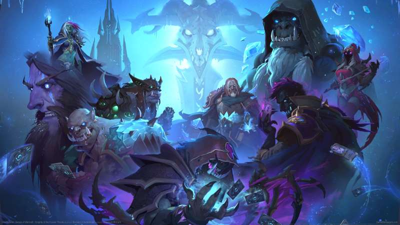 Hearthstone: Heroes of Warcraft - Knights of the Frozen Throne achtergrond 04