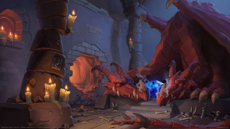 Hearthstone: Heroes of Warcraft - Kobolds & Catacombs achtergrond