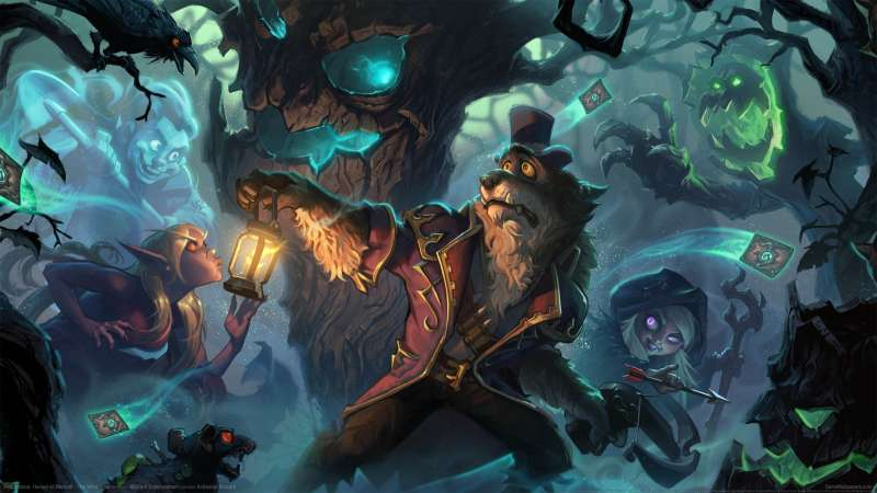 Hearthstone: Heroes of Warcraft - The Witchwood achtergrond