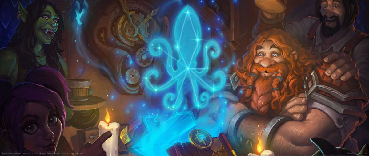 Hearthstone: Heroes of Warcraft ultrawide achtergrond 13