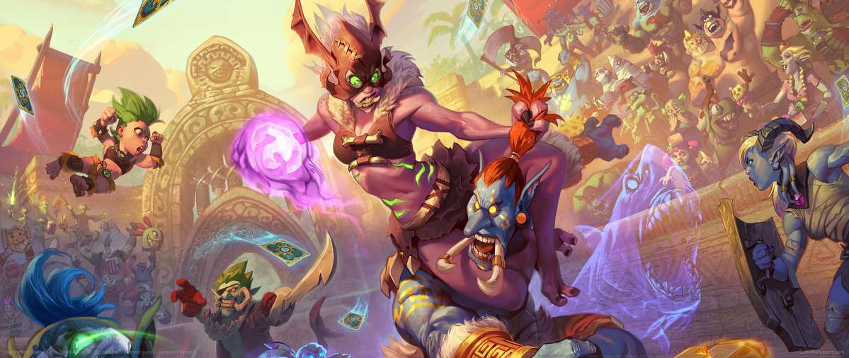 Hearthstone: Rastakhan's Rumble achtergrond