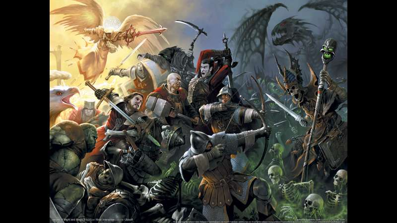 Heroes of Might and Magic 5 achtergrond 08