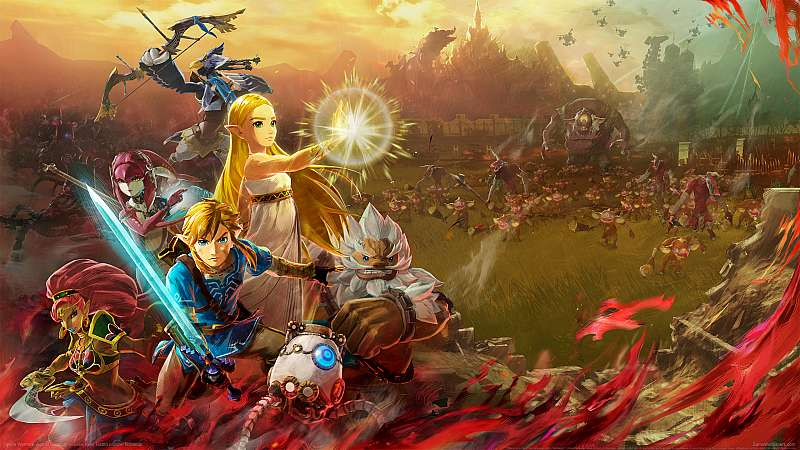 Hyrule Warriors: Age of Calamity achtergrond