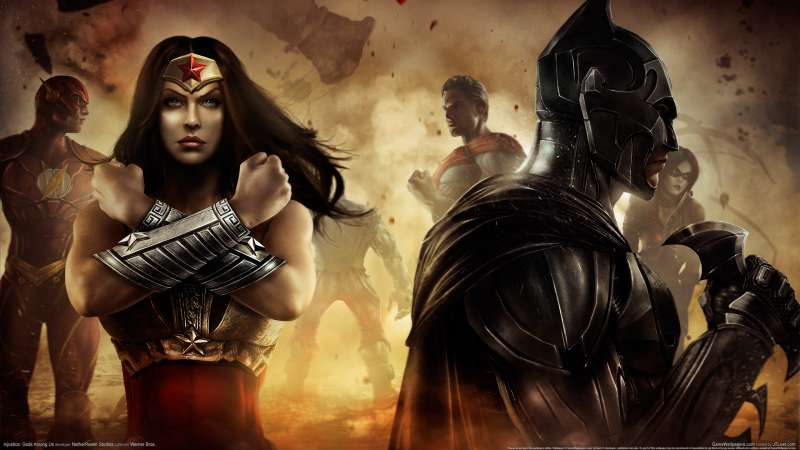 Injustice: Gods Among Us achtergrond 01