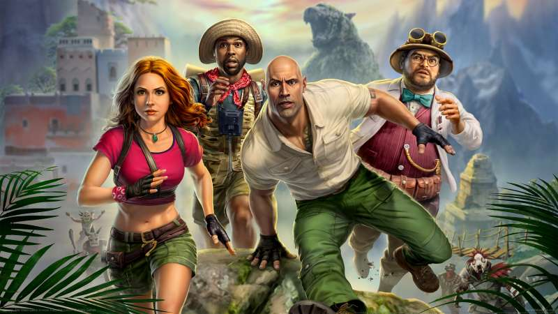 Jumanji: The Video Game achtergrond