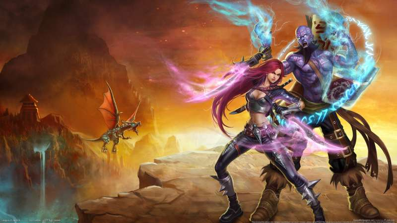 League of Legends achtergrond 01