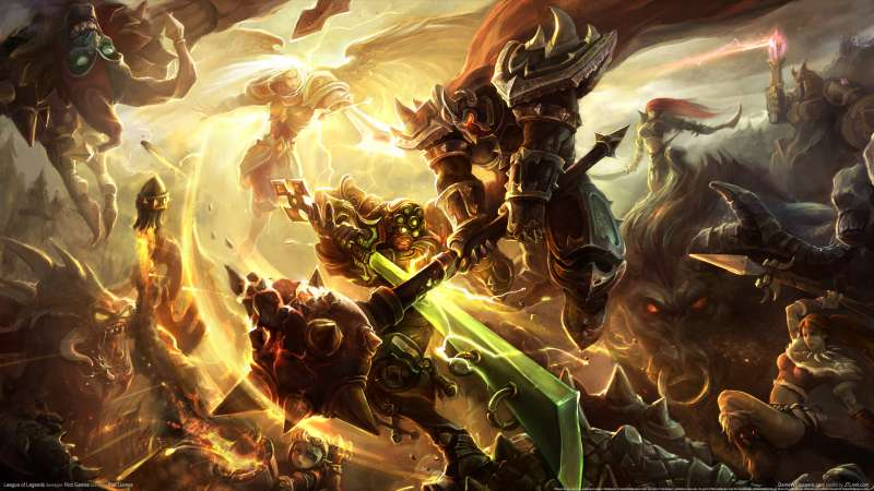 League of Legends achtergrond 03