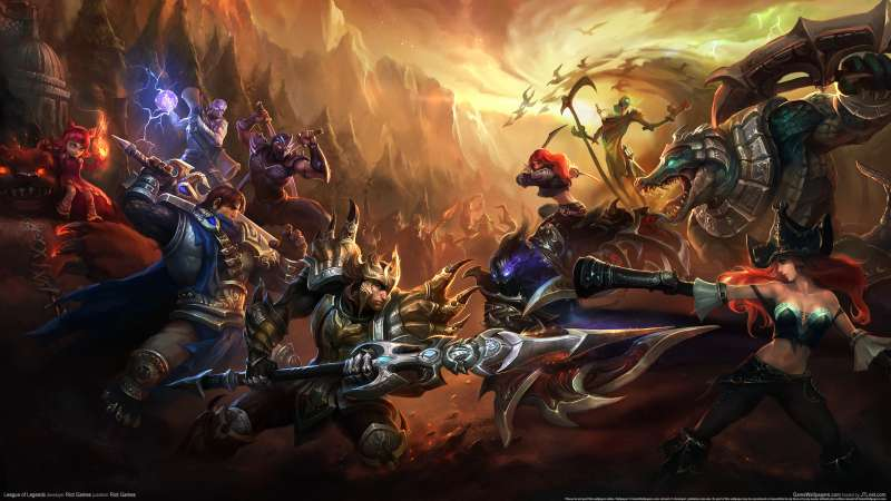 League of Legends achtergrond 12