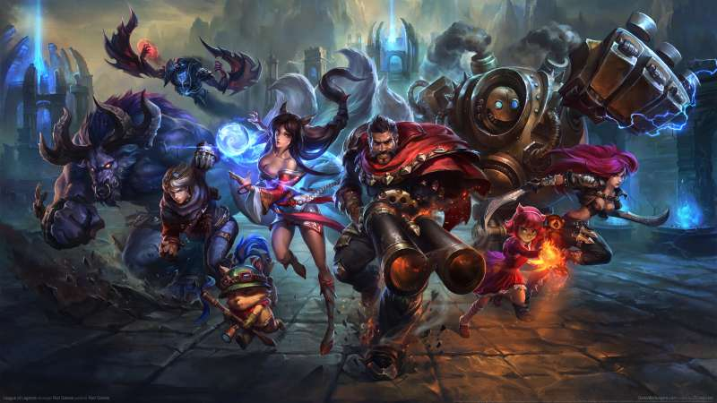 League of Legends achtergrond 18