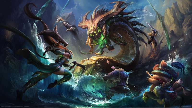 League of Legends achtergrond 45