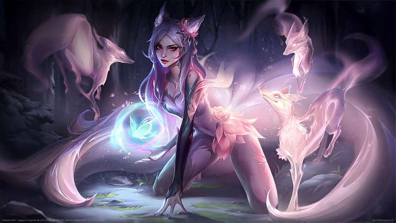 League of Legends fan art achtergrond