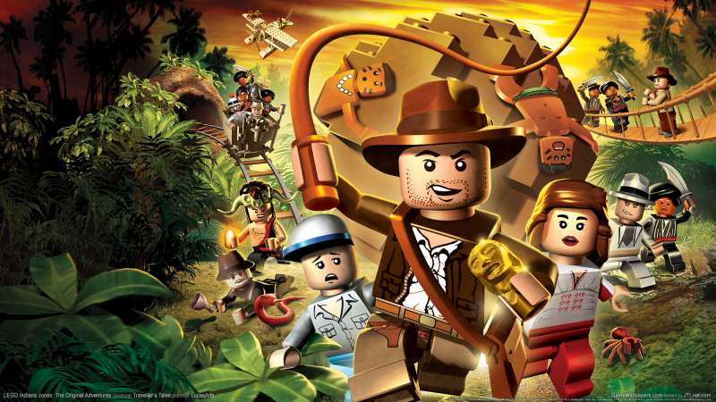 LEGO Indiana Jones: The Original Adventures achtergrond 01