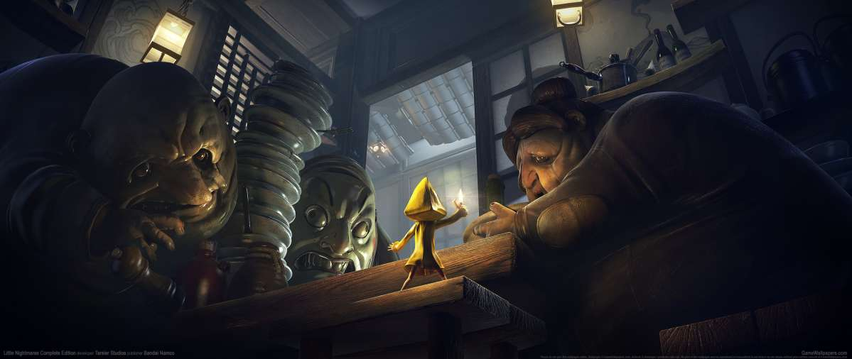 Little Nightmares Complete Edition achtergrond