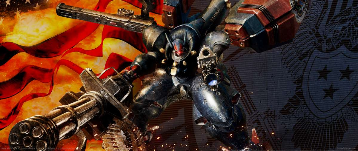 Metal Wolf Chaos XD achtergrond