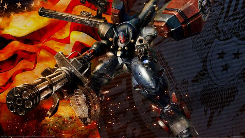 Metal Wolf Chaos XD achtergrond 01