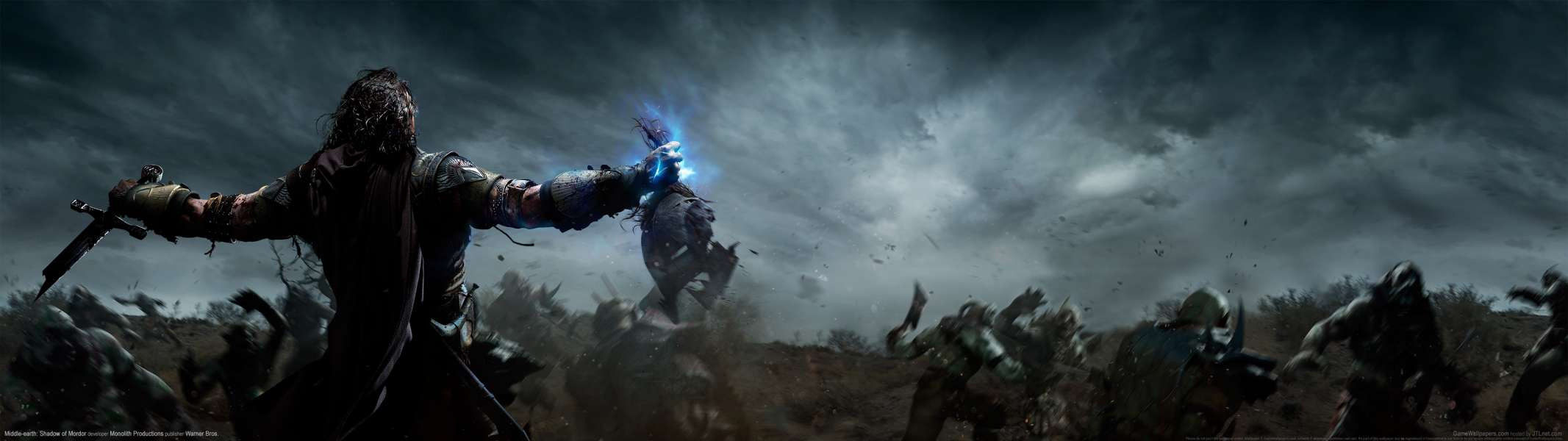 Middle-earth: Shadow of Mordor dual screen achtergrond