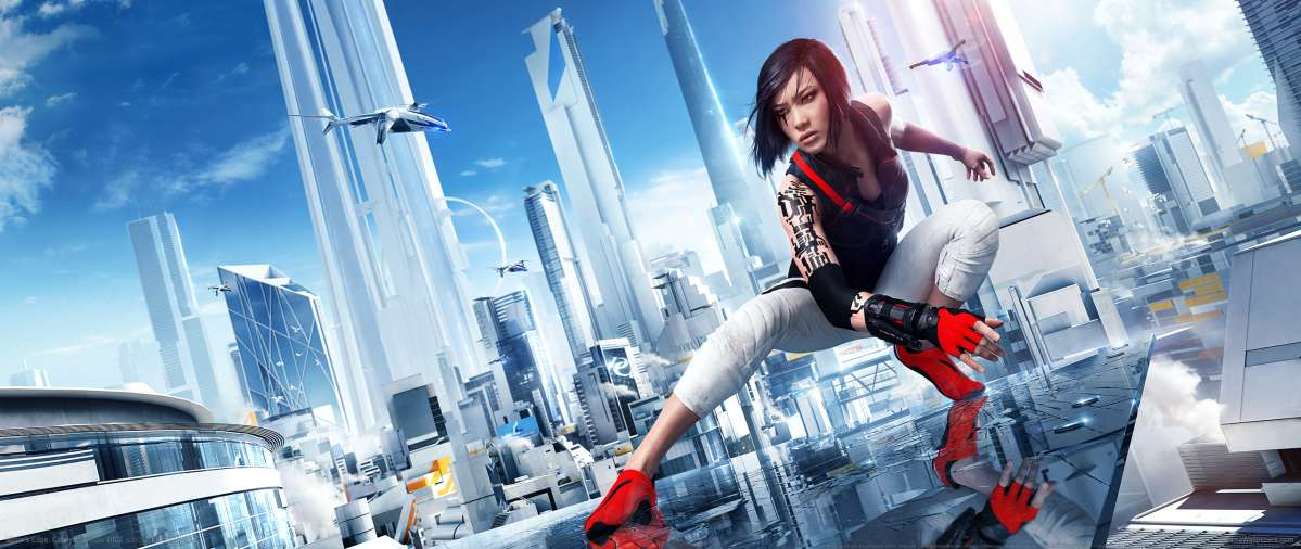 Mirror's Edge: Catalyst ultrawide achtergrond 03