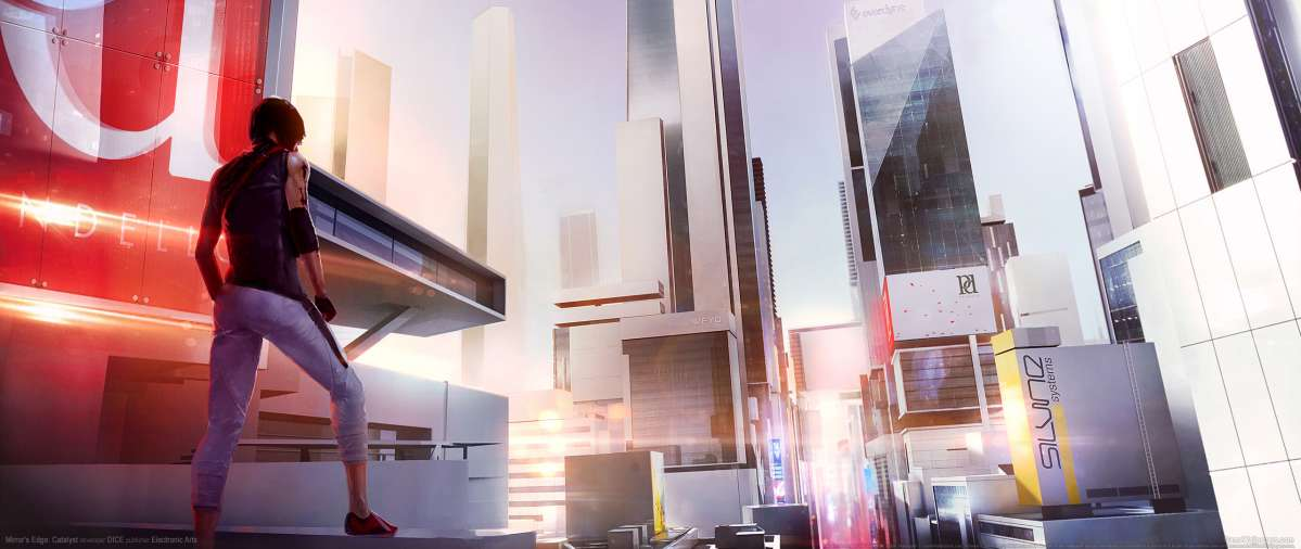 Mirror's Edge: Catalyst ultrawide achtergrond 07