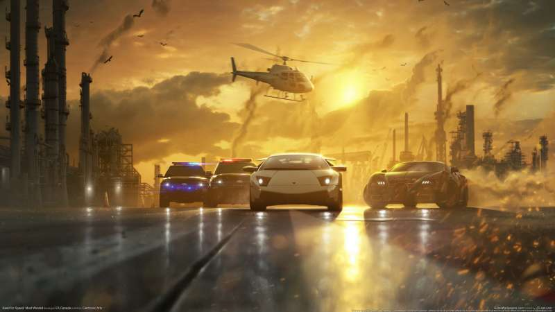 Need for Speed - Most Wanted achtergrond 09