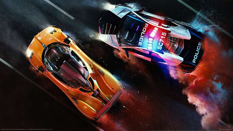 Need for Speed Hot Pursuit Remastered achtergrond