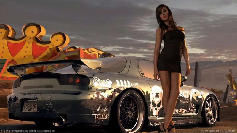 Need for Speed: ProStreet achtergrond 08