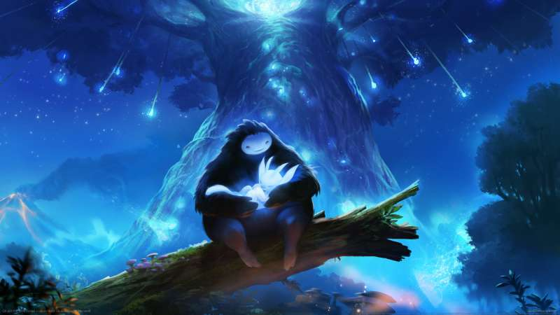 Ori and the Blind Forest achtergrond
