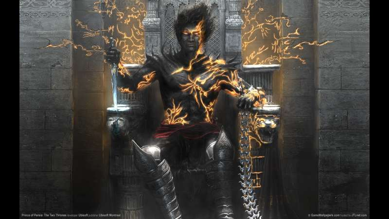 Prince of Persia: The Two Thrones achtergrond