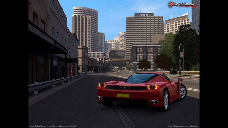 Project Gotham Racing 2 achtergrond 01