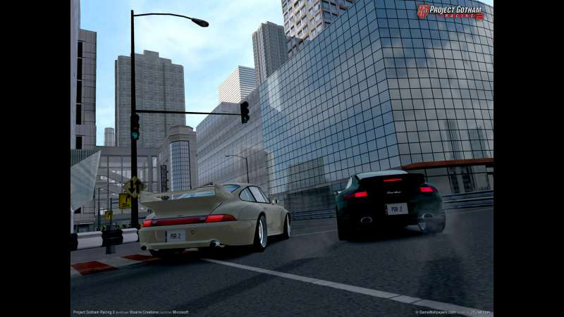 Project Gotham Racing 2 achtergrond 02