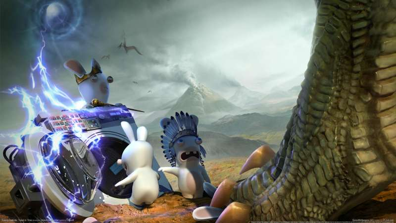 Raving Rabbids: Travel in Time achtergrond 01