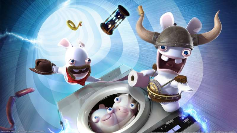Raving Rabbids: Travel in Time achtergrond 02