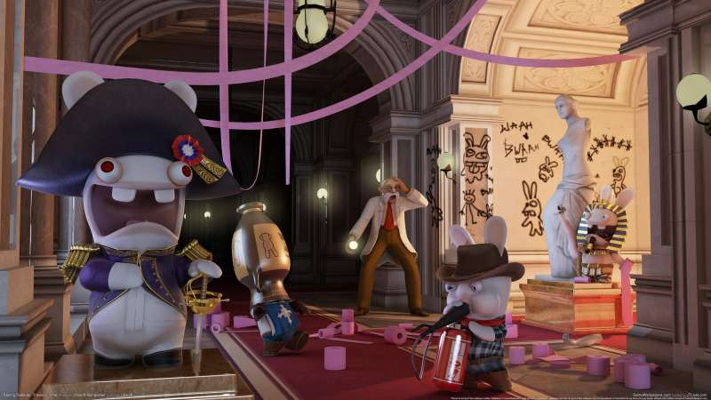 Raving Rabbids: Travel in Time achtergrond 04