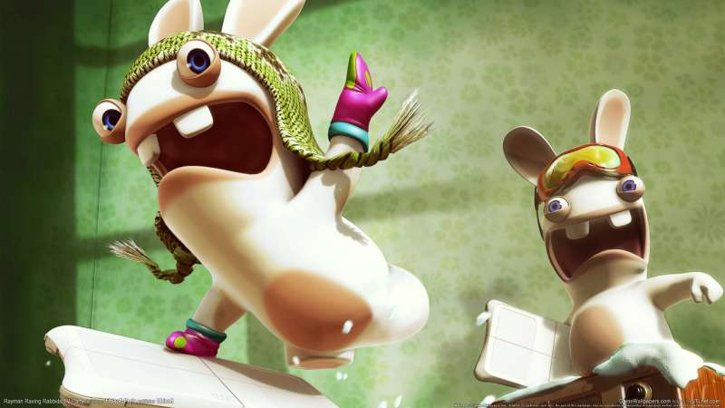 Rayman Raving Rabbids TV Party achtergrond 02