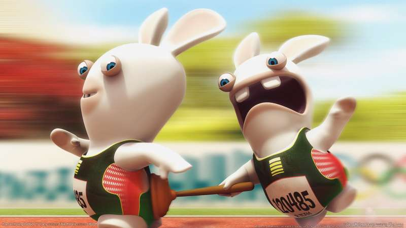 Rayman Raving Rabbids TV Party achtergrond 03