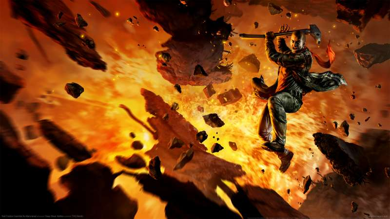 Red Faction: Guerrilla Re-Mars-tered achtergrond 01