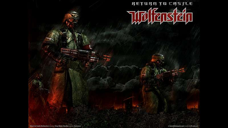Return to Castle Wolfenstein achtergrond