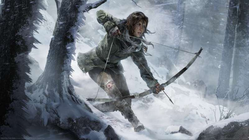 Rise of the Tomb Raider achtergrond 01