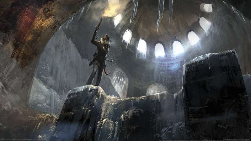 Rise of the Tomb Raider achtergrond 02