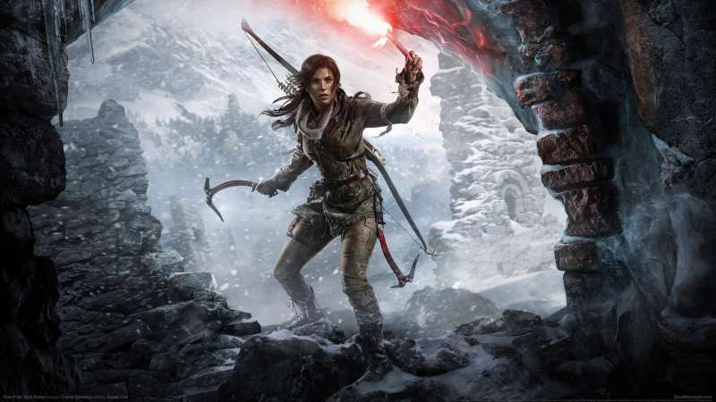 Rise of the Tomb Raider achtergrond 05